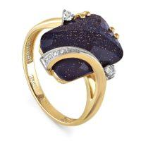 Кольцо золото 11-2755