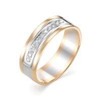 Кольцо обручальное золото 920-110