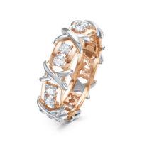 Кольцо золото бриллианты, арт. 3472-110