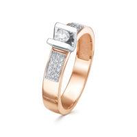 Обручальное кольцо золото, арт. 3374-110