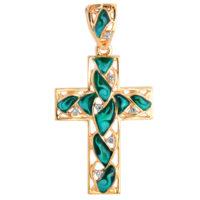 Крест золото, арт. 1030198