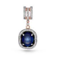 Подвеска золото бриллианты, арт. 13-0540