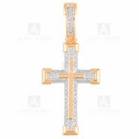 Подвеска золото крест 1030292