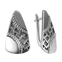 Серьги серебро арт. 2-1577-000