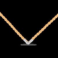 Колье золото, бриллианты, арт. 01-830096
