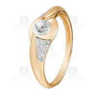 Кольцо золото 1011368