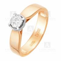 Кольцо золото 1011734