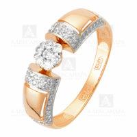 Кольцо золото 1011745