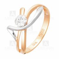 Кольцо золото 1011747