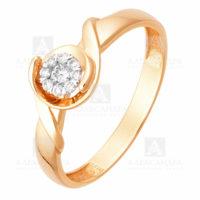 Кольцо золото 1011785