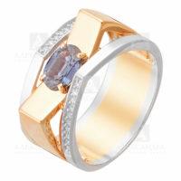 Кольцо золото сапфир 3011810