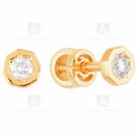 Серьги золото 1021416