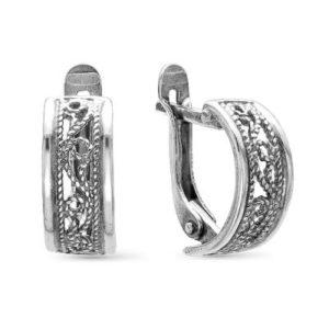 Серьги серебро, арт. 3308566