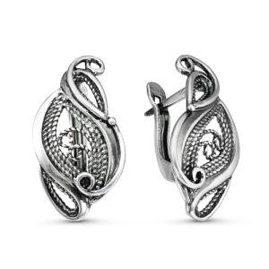 Серьги серебро, арт. 3309532