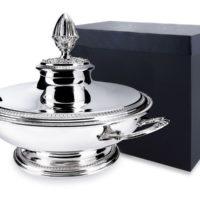 Серебряная супница «Имперо» с крышкой