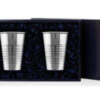Набор из 2-х стаканов, серебро